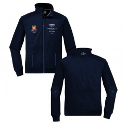 Navy Blue Bucker Bu 131 Jacket