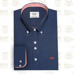 Basic Navy Blue Shirt