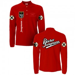 Red Bucker Jungmann Polo Shirt